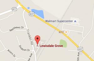 Lewisdale map